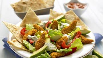 Unser Old El Paso Rezept für Crispy Chicken Fajita Salat ist schnell und einfach zubereitet. Mexikanisch kochen leicht gemacht! Im Nu fertig.