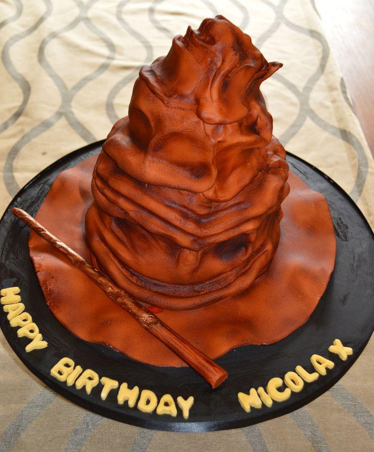 https://flic.kr/p/vmJdJc | DSC_2828 - Copy (2) | Harry Potter hat cake