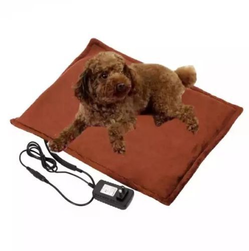 Pet-Dog-Cat-Reptile-Winter-Safe-Heated-Warmer-Electric-Consistent-Useful-Bed-Pad