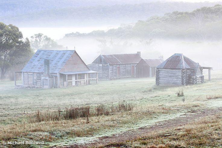 Coolamine Homestead Mist, Kosciuszko National Park, New South Wales. Chockstone Photography