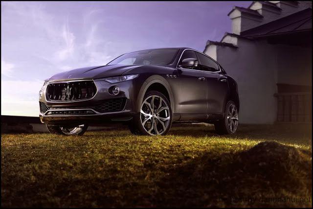 Немецкие тюнеры поработали над кроссовером Maserati Levante