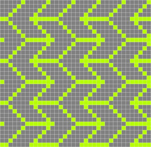 digital pixel pattern