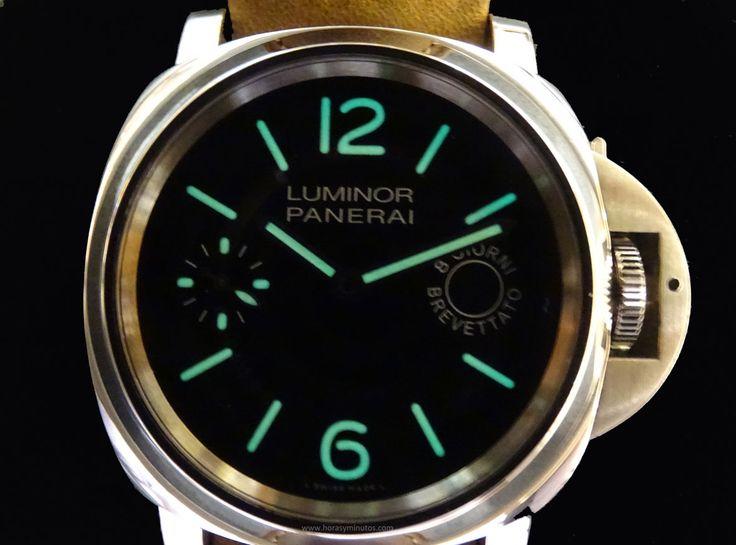 #Panerai Luminor Marina 8 days SuperLuminova