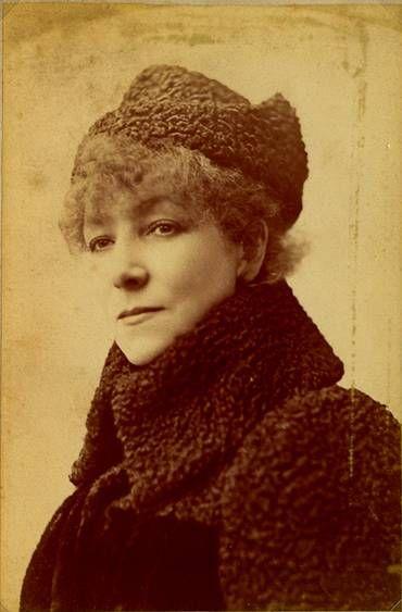 Sarah Bernhardt - 1890. Photographie de Félix Nadar,