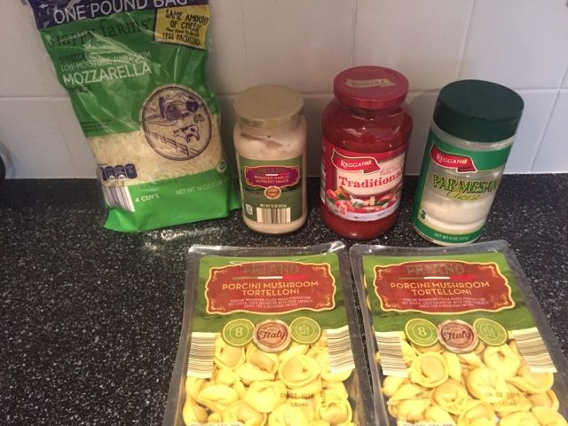 Wishes do come true...: Baked Tortellini easy last minute pasta recipe dinner aldi aldi meal plan