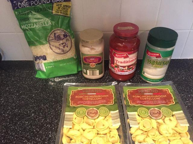 Wishes do come true...: Baked Tortellini easy last minute pasta recipe dinner aldi aldi meal plan