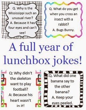 3 Baby Boys and a Business: Lunch box Jokes - A full year printable!