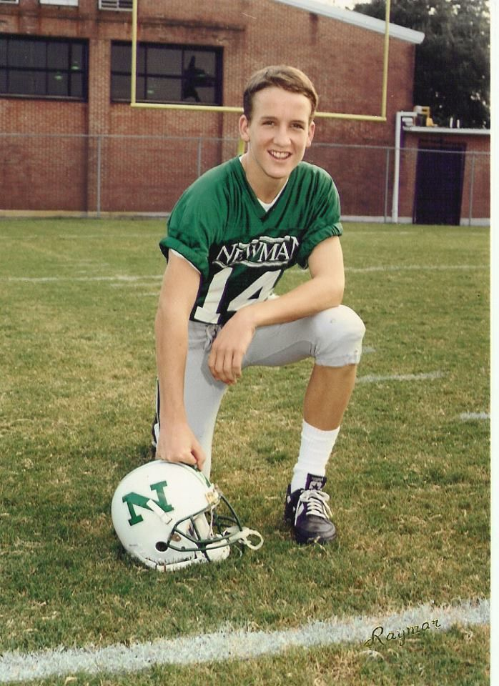 Peyton Manning In High School...when he played with Cooper, his older brother and best team mate!!!