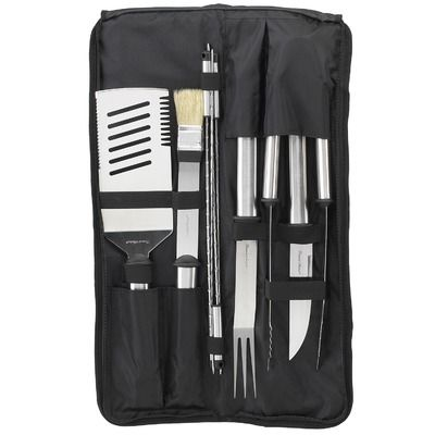 Picnic At Ascot Nine Piece Stainless Barbecue Set $42.49