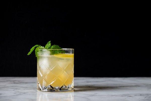 Whiskey & Ginger Smash