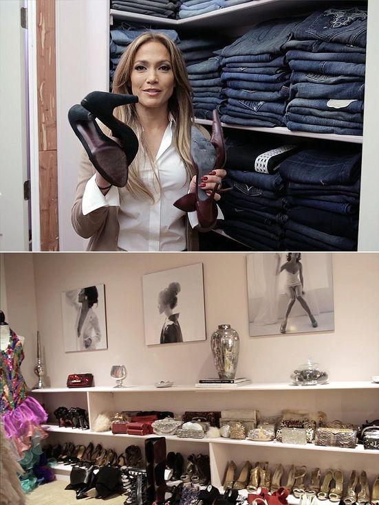 Jennifer stano closet tour celebrity