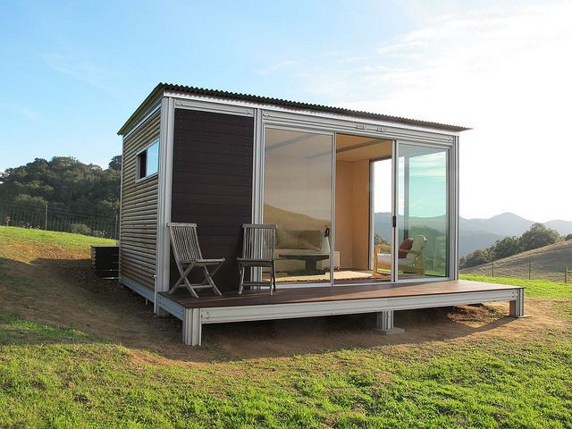 275 best summer house ideas images on pinterest tiny for Modular granny flat california