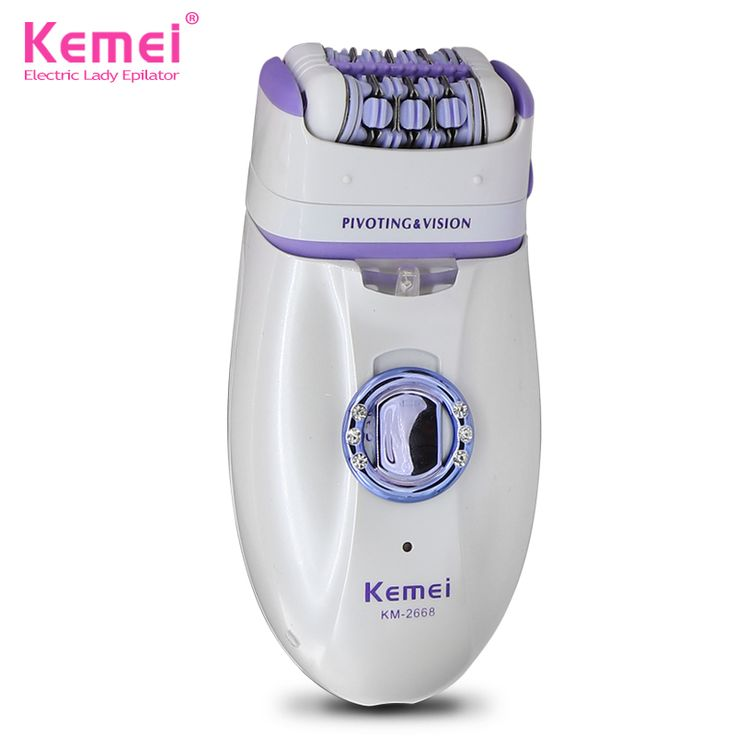Kemei New 2 in 1 Women Shave Wool Device Knife Electric Shaver Wool Epilator Shaving Lady's Shaver Female Care
