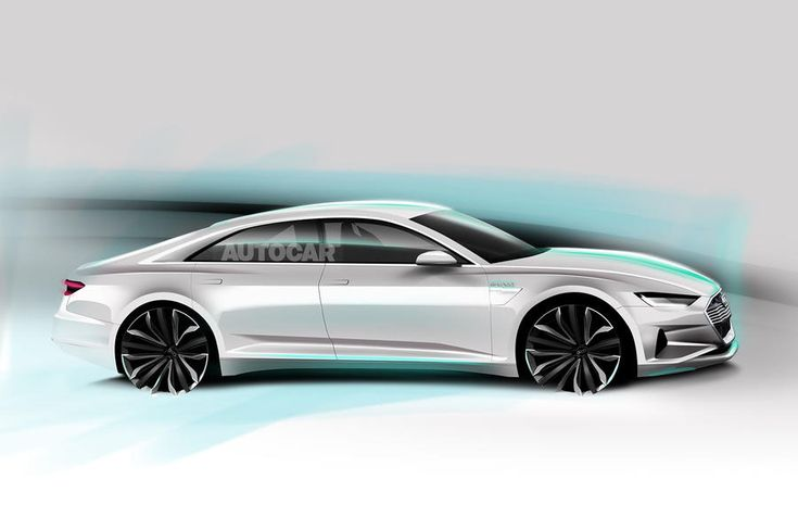 Audi A9 E Tron As Imagined By Autocar Design Pinterest