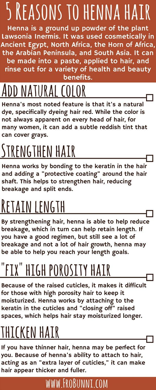 "Four Additional Reasons Besides Color to Henna Hair Including Strengthening Hair and ""Fixing"" Porosity Issues"