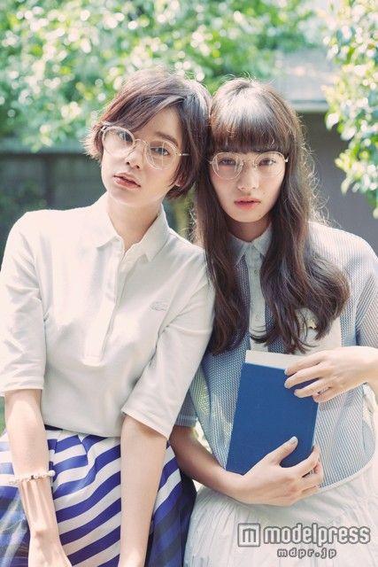 岸本セシル、小松菜奈 Cecil Kishimoto, Nana Komatsu Japanese model