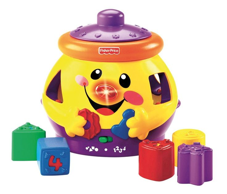 Review on the Fisher Price Cookie Jar shape sorter. It helps educate your child on numbers and shapes, all while having a good time!