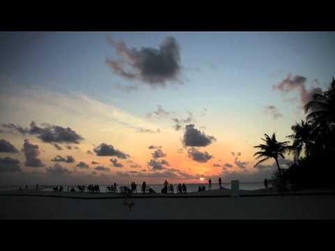 2011 September: Malediven Kuredu Island Sonnenauf- und untergang