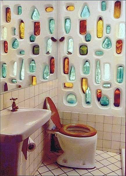 parede de banheiro perfeita! Lá em casa TEM que ser assim ^^