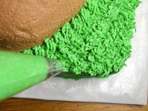 Super Bowl Cake Recipe - Step 11