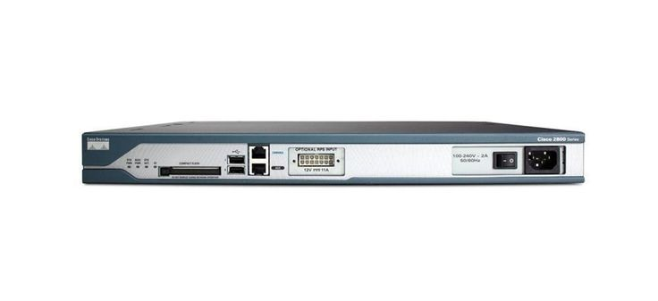 Cisco 2800 Series 2811 Integrated Services Router P/N Cis (Refurbished) Mfr P/N CISCO2811V05 - cisco 2800 series access point, cisco 2800 series router, cisco 2800 series modules