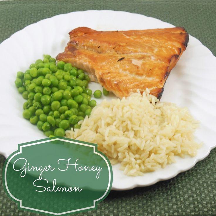 Ginger Honey Salmon Recipe   foods.. i