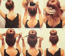 Enjoyable 1000 Images About Heatless Hairstyles Lt3 On Pinterest Easy Updo Short Hairstyles Gunalazisus