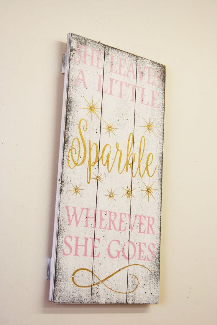 She Leaves A Little Sparkle Wherever Goes S Nursery Decor