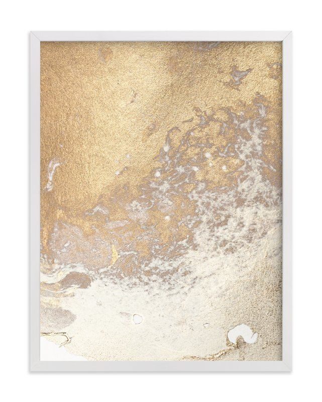"""Aurum Sand No. 3"" - Art Print by Julia Contacessi in beautiful frame options and a variety of sizes."