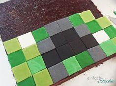 Minecraft Torte selbst backen mit Anleitung