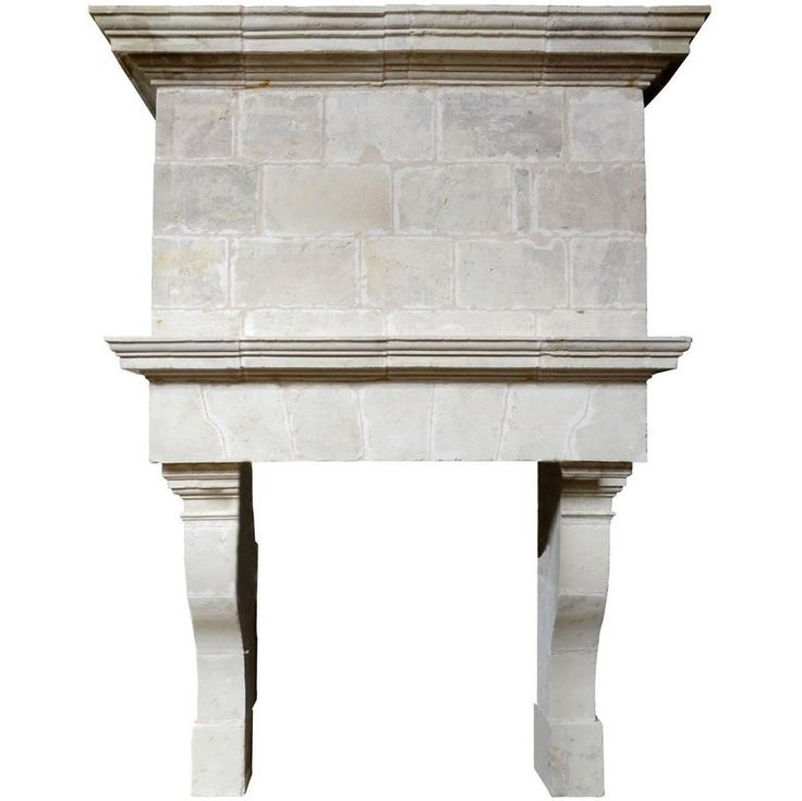 Louis XIII Limestone Fireplace, 17th Century | From a unique collection of antique and modern fireplaces and mantels at https://www.1stdibs.com/furniture/building-garden/fireplaces-mantels/