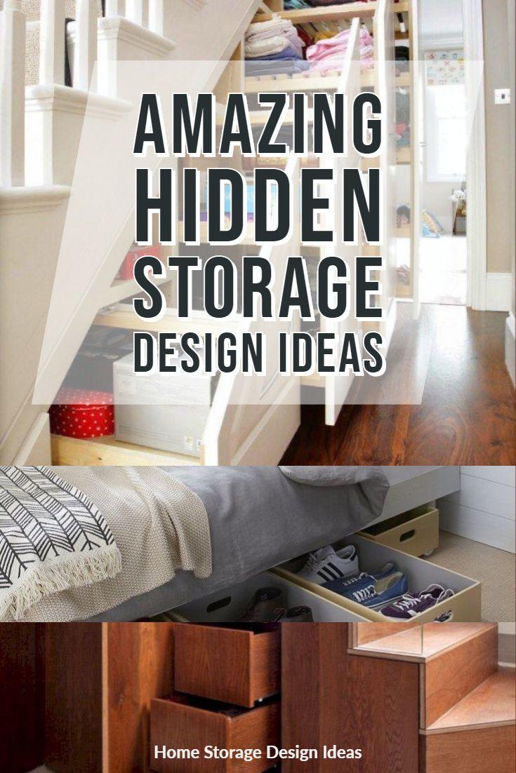 Amazing Hidden Storage Design Ideas For