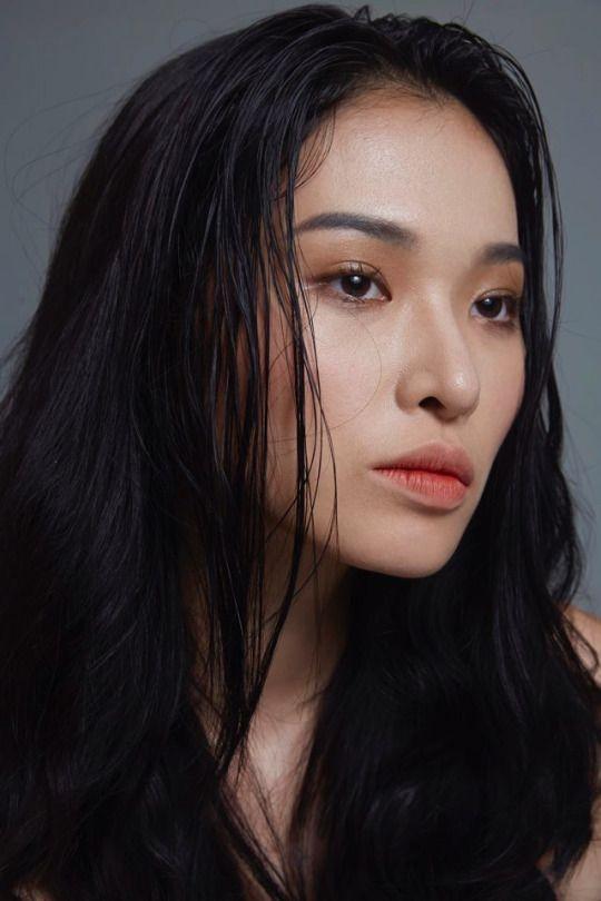 Kwon Saem  Portraits  Frau, Gesicht, Charakter-5251