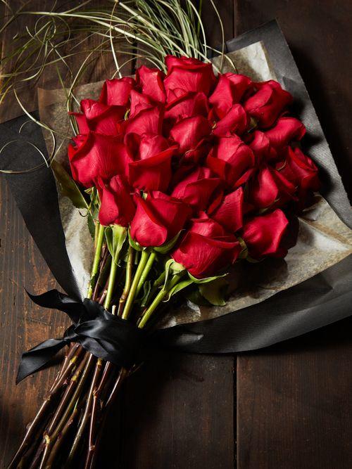 Hermoso ramo de rosas