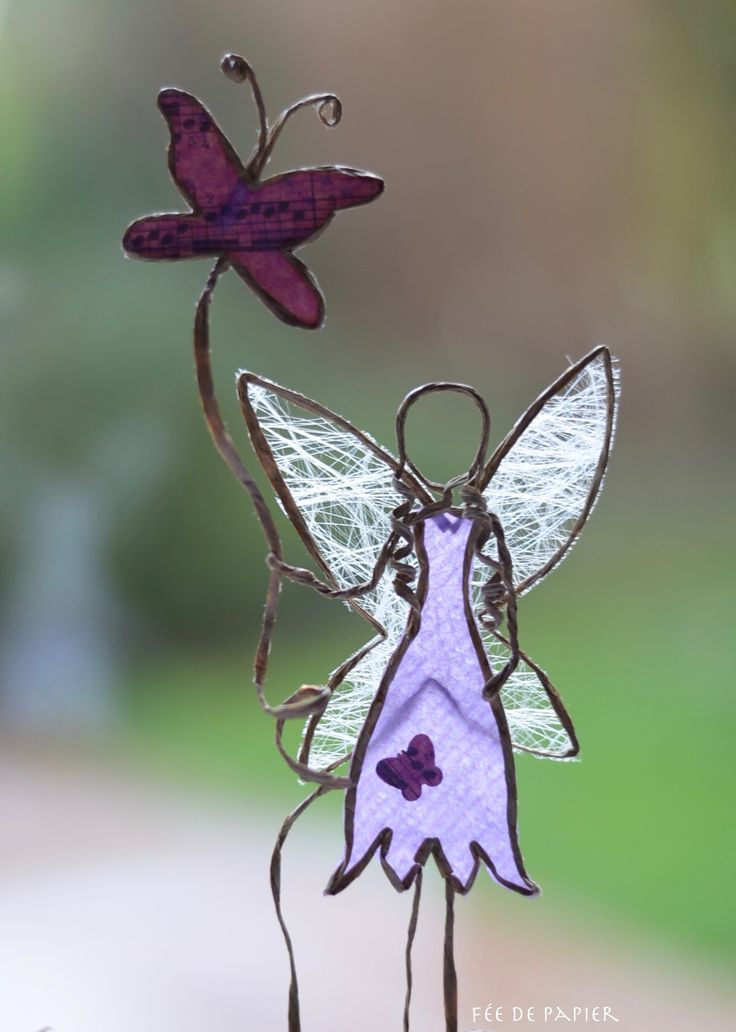 La fée papillon - Technique by epistyle.blogspot.fr