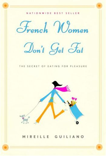 Why French Women Don't Get Fat by Mireille Guilano I've been told this one is great for a little light reading on the beach… So intrigued!