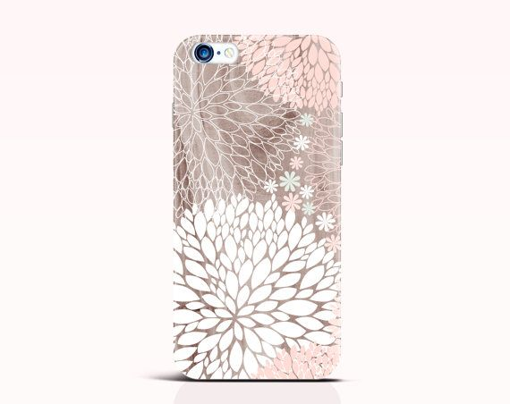 Hydrangeas iPhone 6 Plus Case Floral iPhone 5s Case by iDedeCase