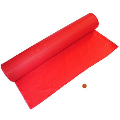 Carnival Savers - Red Tablecloth Roll 100 feet long, $15.75 (http://www.carnivalsavers.com/red-tablecloth-roll-100-feet-long/)