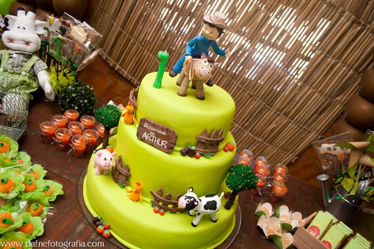 Bolo fazendinha: Bolo Fazendinha, Decorated Cakes