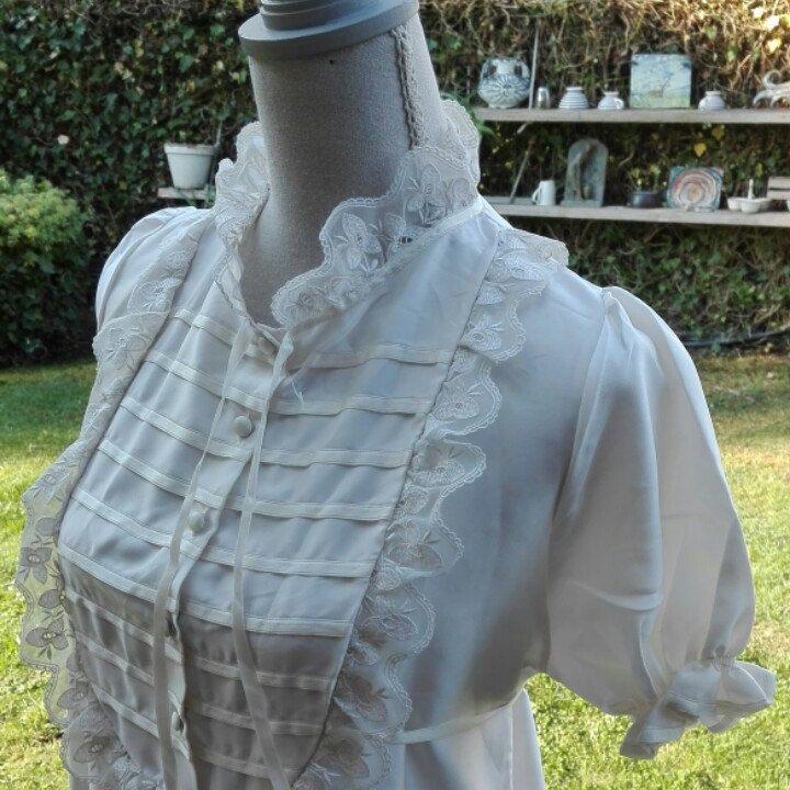 Camicia da notte shabby chic vintage principessa SPOSA