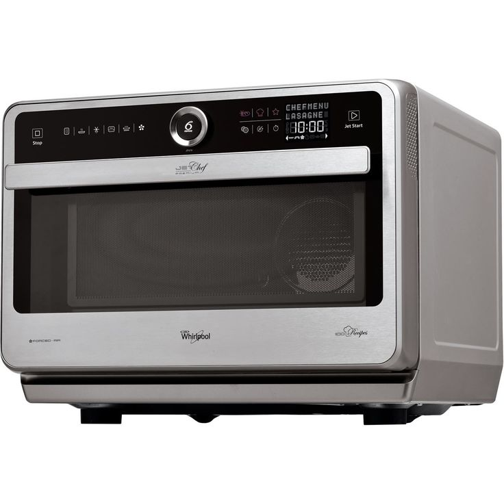 Microwave Oven Combined With Technology 6th Sense And Touch Control Display  Crisp! | MICROWAVE WHIRLPOOL