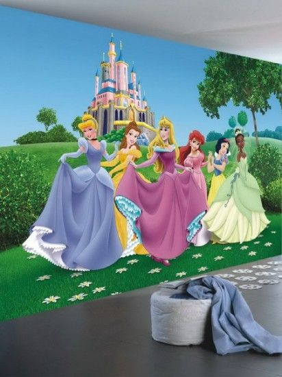 15 must see castle mural pins princess mural murals for Disney princess mural asda