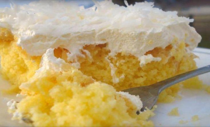Recette : Gâteau Hawaïen .