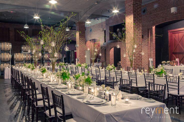 barrel hall sirromet winery wedding reception john reyment