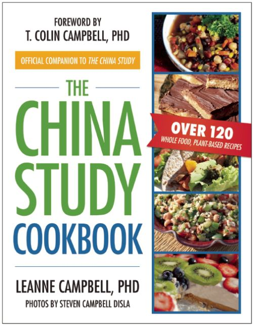 The China Study Cookbook. Review, Giveaway, Plus No Bake Chocolate Peanut Butter Bars Recipe