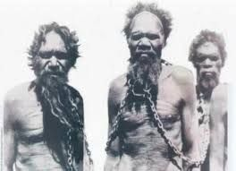 images of Aboriginal people chained - Google Search