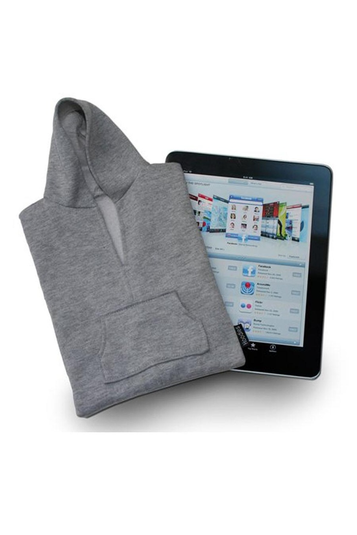 Tablet Hoodie by Slam Design | Jack Threads // just don't let your iPad walk around in this in Florida :P