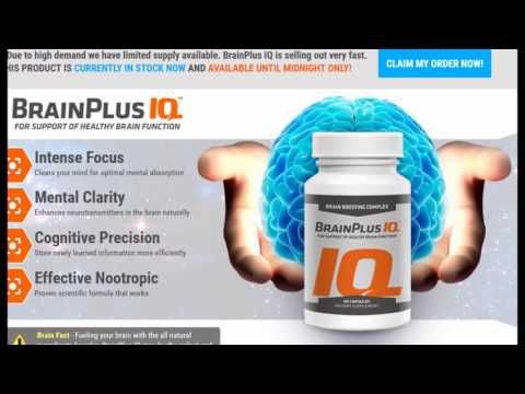 "Brain Plus IQ ""Smart Brain Pill"" Don't Buy Without Read"