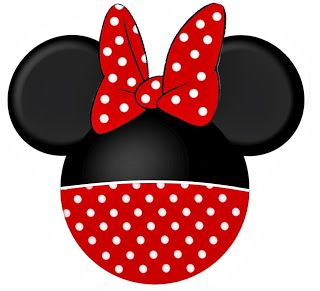 Funny Free Printable Minnie Heads. Right click and save as