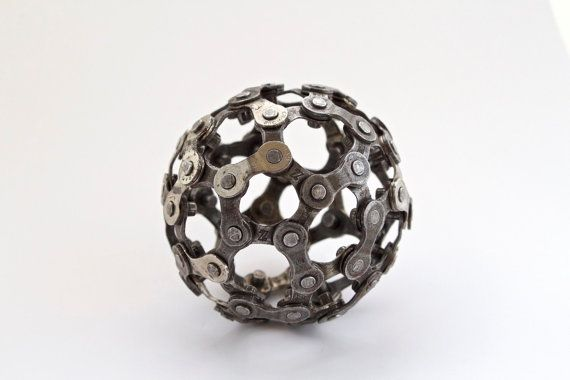 Banausic Bicycle Chain Ball V2.0 by Banausic on Etsy